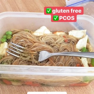 healthy noodle pot
