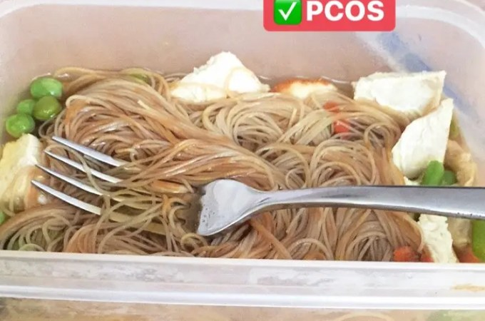 healthy noodle pot