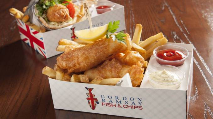 Gordon Ramsay Fish and Chips recipe