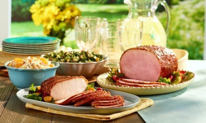 Honey Baked Ham menu
