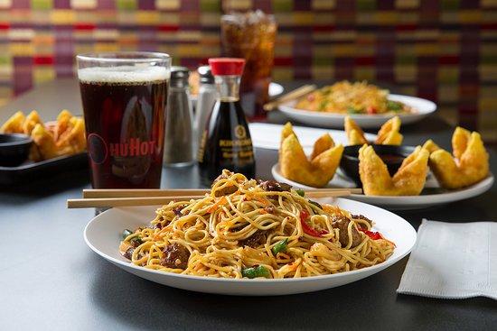 Huhot Mongolian Grill menu