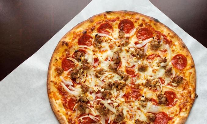 Fox's Pizza Den menu