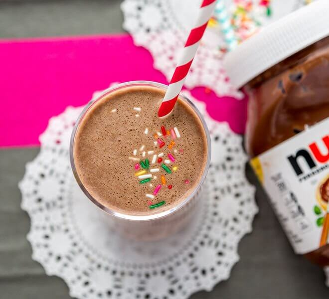 Banana Nutella Smoothie recipe