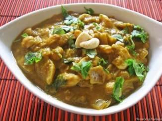 Shahi Kaju Aloo with Cream