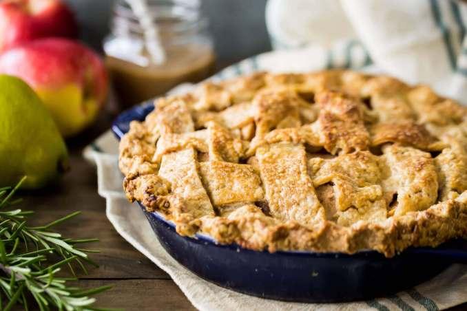Apple Pear Pie recipe
