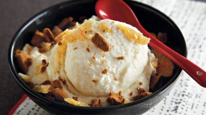 Ginger Ice Cream recipe