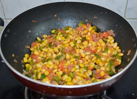 Mirch Makai Recipe