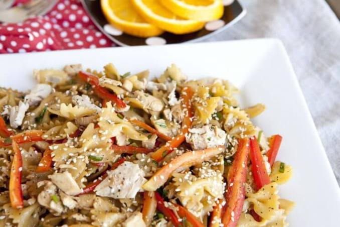Roasted Chicken and Bow-Tie Pasta Salad Recipe