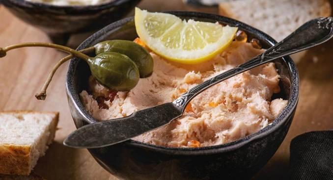 Smoked Salmon Pate recipe