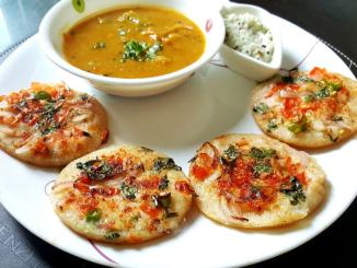 Vegetable Uttapam