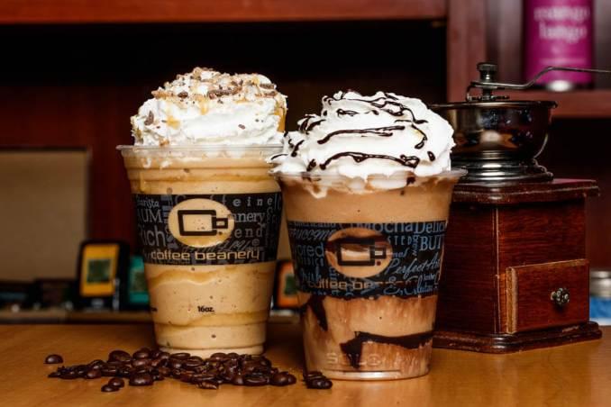 Coffee Beanery menu