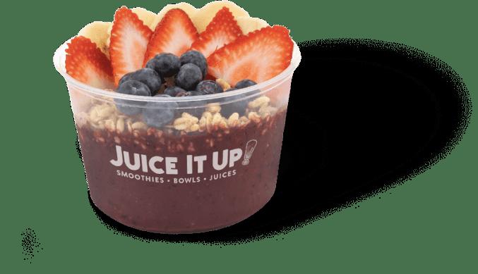 Juice It Up! menu