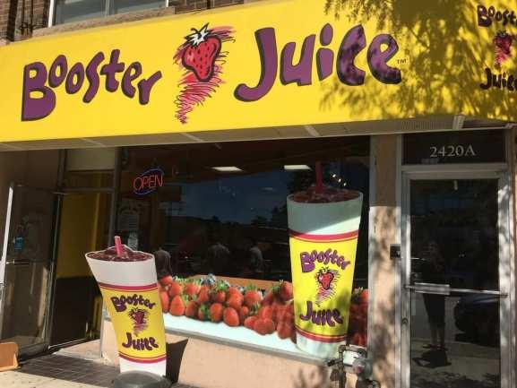 booster juice franchise