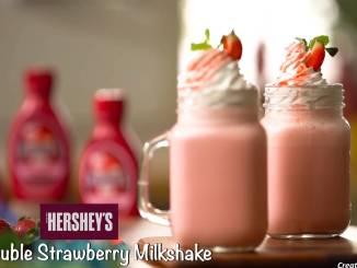 Double Strawberry Milkshake Recipe