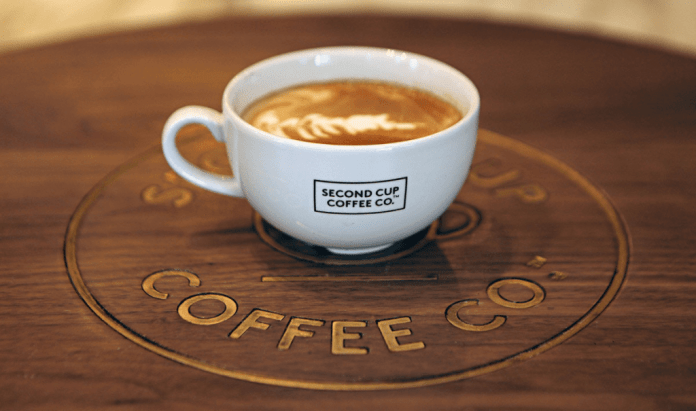 Second Cup Cafe Coffee
