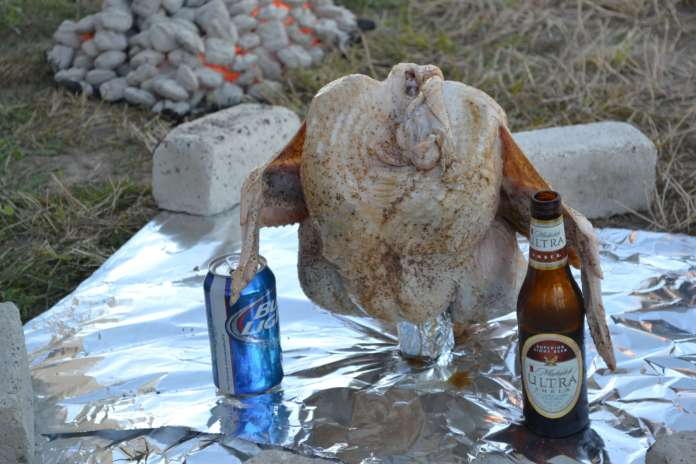 Trash Can Turkey recipe