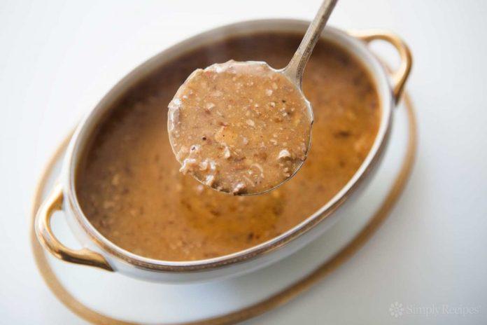 giblet gravy recipe