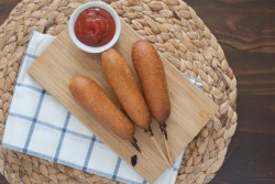 Air fryer Corn Dogs recipe