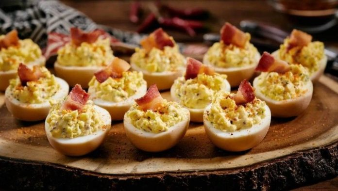 Smoked Eggs recipe