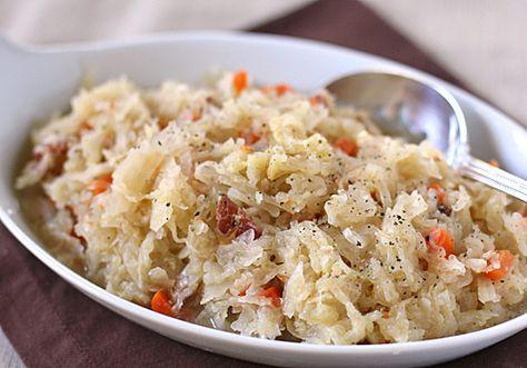Braised Sauerkraut recipe