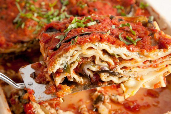 Vegetarian Lasagna with Tofu recipe