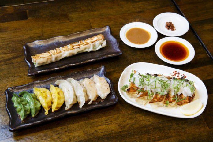 Food from Gyoza no Ohsho