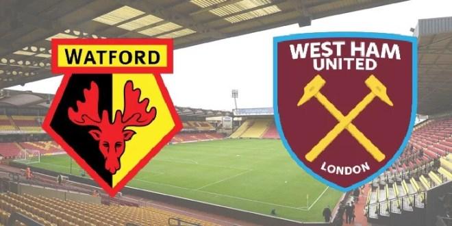 Watford v West Ham from Vicarage Road