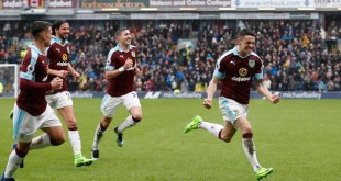 Robbie Brady scores a super equaliser for Burnley against Chelsea