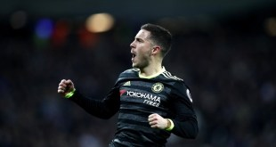 Eden Hazard scores a wonderful goal for Chelsea at West Ham