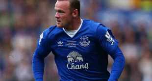 Wayne Rooney features for Sverton in Duncan Fergusons testimonial