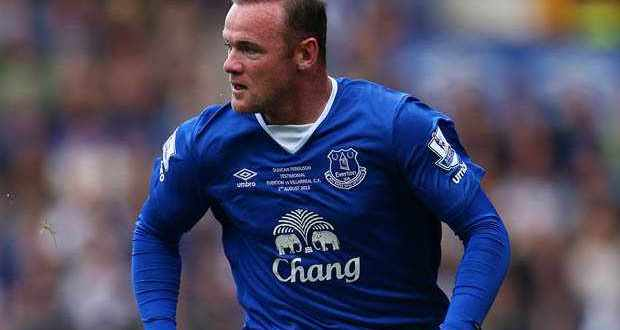 Wayne Rooney features for Sverton in Duncan Fergusons testimonial