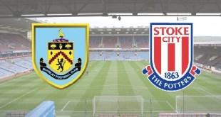 Burnley v Stoke in the Premier League