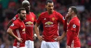 Juan Mata, Paul Pogba, Zlatan Ibrahimovic,Wayne Rooney