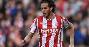 Stoke City winger Ramadan Sobhi