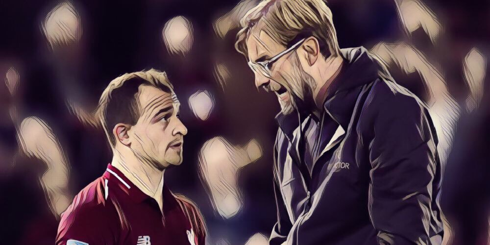 Shaqiri explains why he prefers Klopp over Guardiola