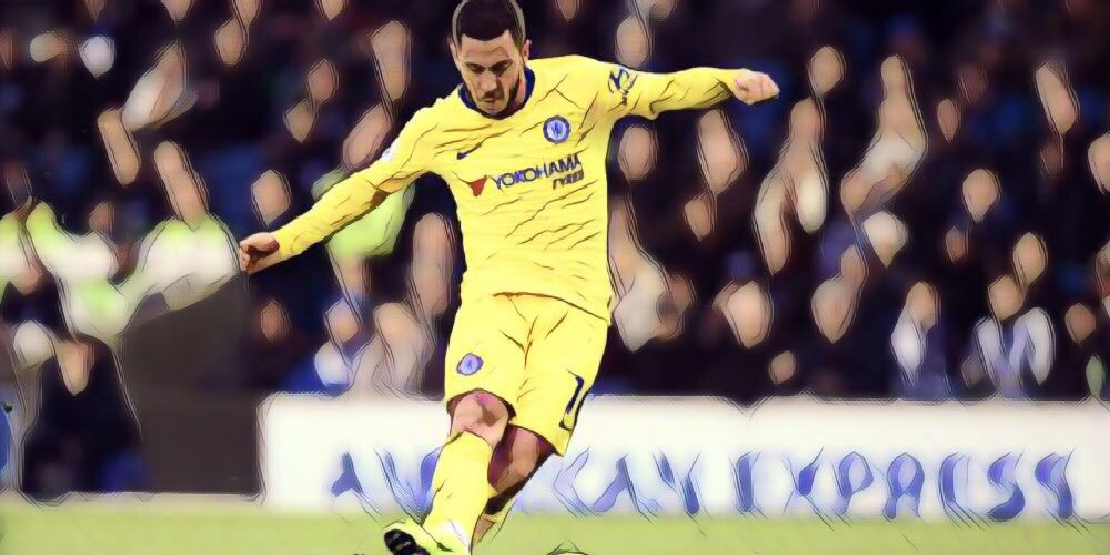 Sarri hints he will continue with Hazard as a false nine