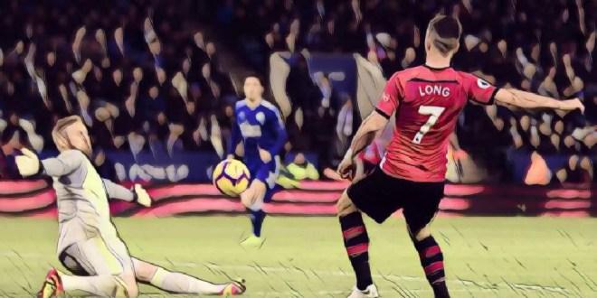 Shane Long Leicester 1-2 Southampton