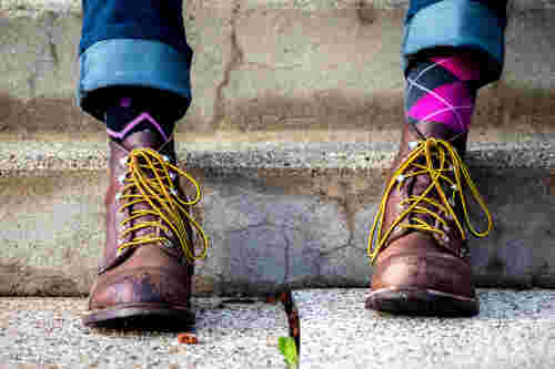 best socks work boots