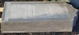 James Bond's parents' headstone