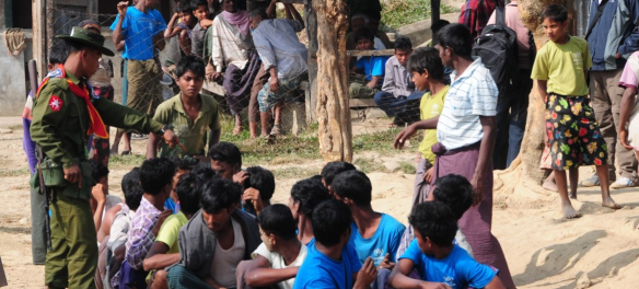 religious violence in Myanmar