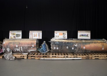 Iran Qiam Ballistic Missile