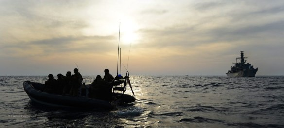 UK navy counterpiracy