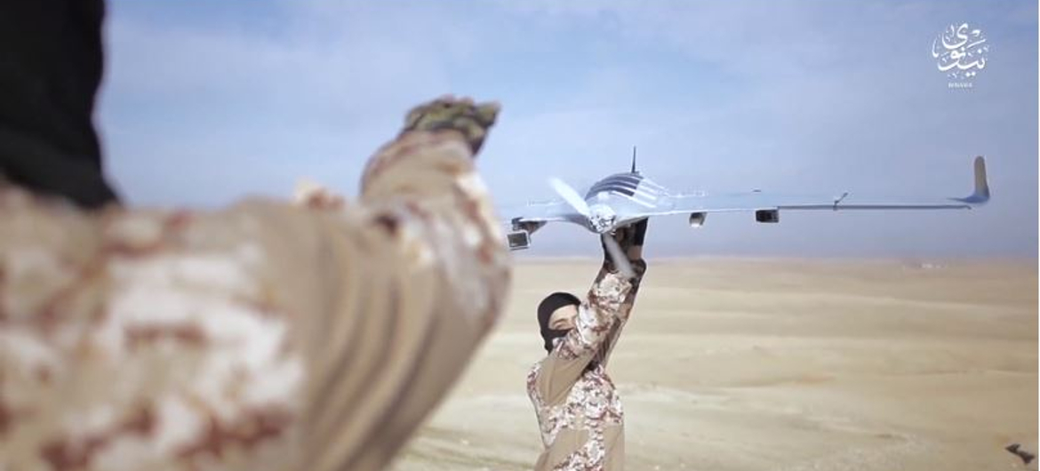 ISIS drone UAVs