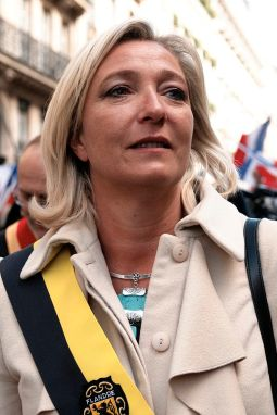 Marine Le Pen, leader of the National Rally - Rassemblement National (Source: Wikimedia Commons)