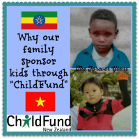 "Why our family sponsor kids through ""ChildFund"""