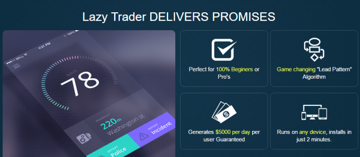 Lazy Trader App Review