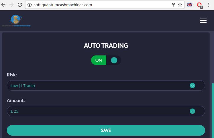 Quantum Cash Machine Auto Trading Software