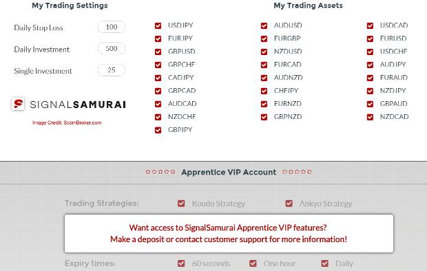 Signal Samurai Binary Option Signals Software