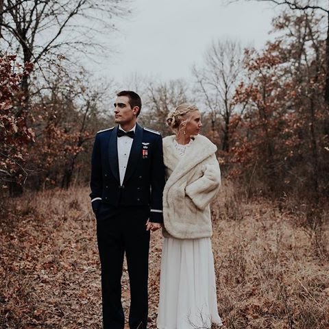 Dan and Susanna were married in the Forges natural scenery for a New Years Winter wedding