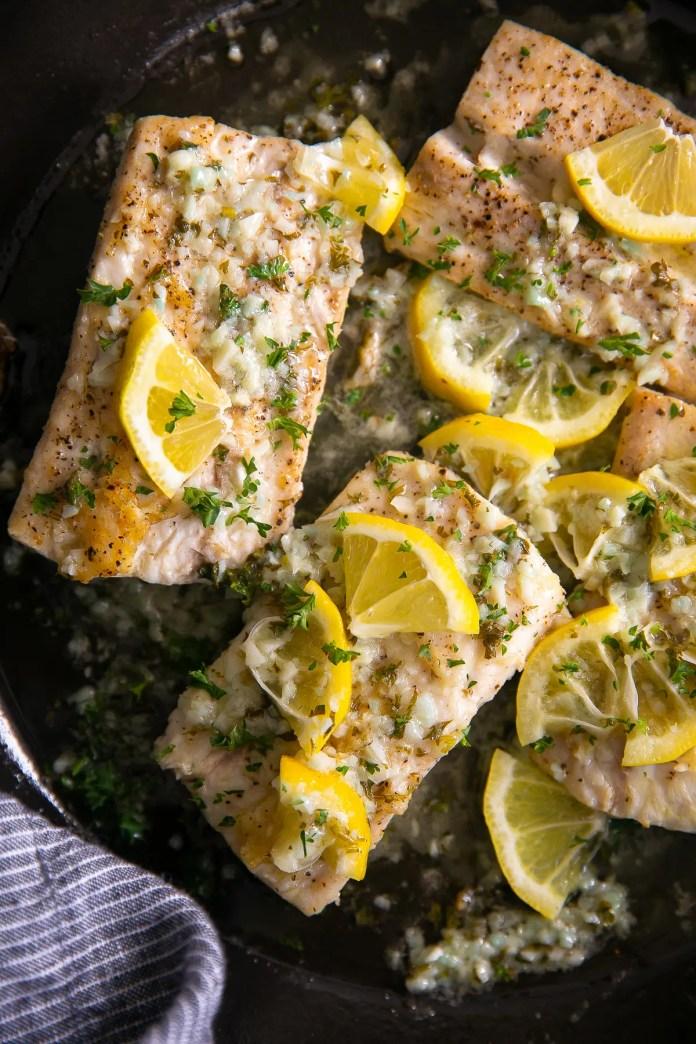 Easy Mahi Mahi Recipe With Lemon Garlic Sauce The Forked Spoon
